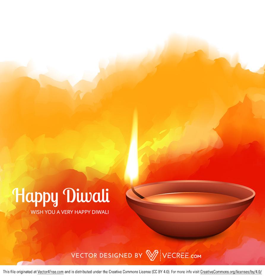Indian Diwali Festival Diya