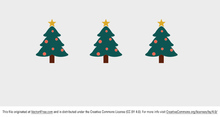 Cute Christmas Tree Vector
