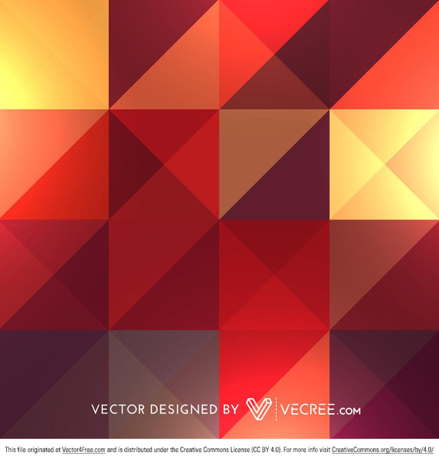 Retro Colorful Diamond Patterns