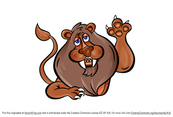 Lion Vector Character Cartoon