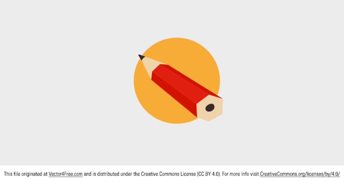 Free Vector Pencil