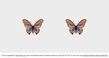 Beautiful Free Vector Butterfly