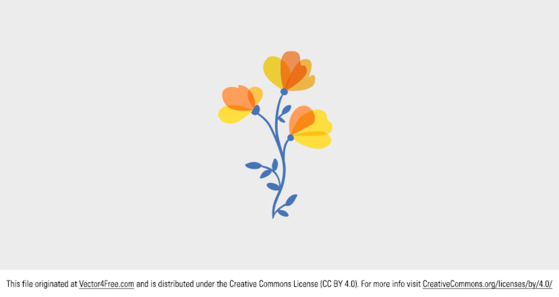 Free Vector Spring Bouquet