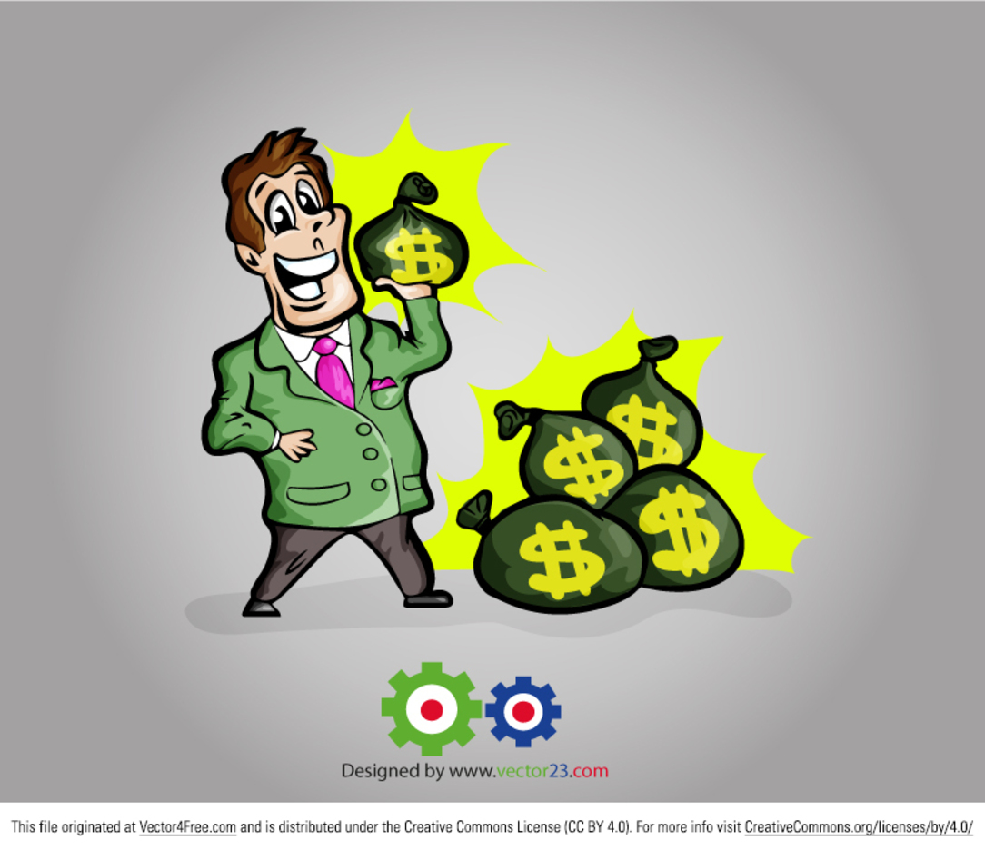 Free Vector Businessman Cartoon