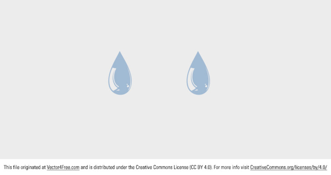 Free Vector Water Drop