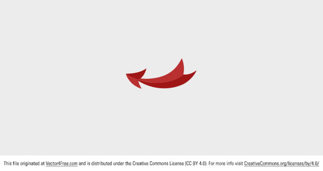 Free Vector Red Arrow