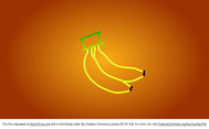Simple Banana Vector