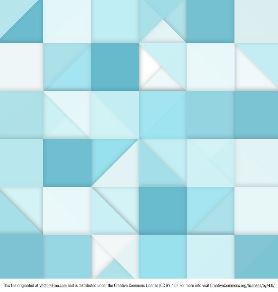 Free Vector Abstract Square Background Design