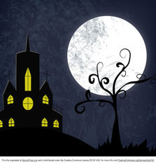 Free Haunted House Halloween Vector