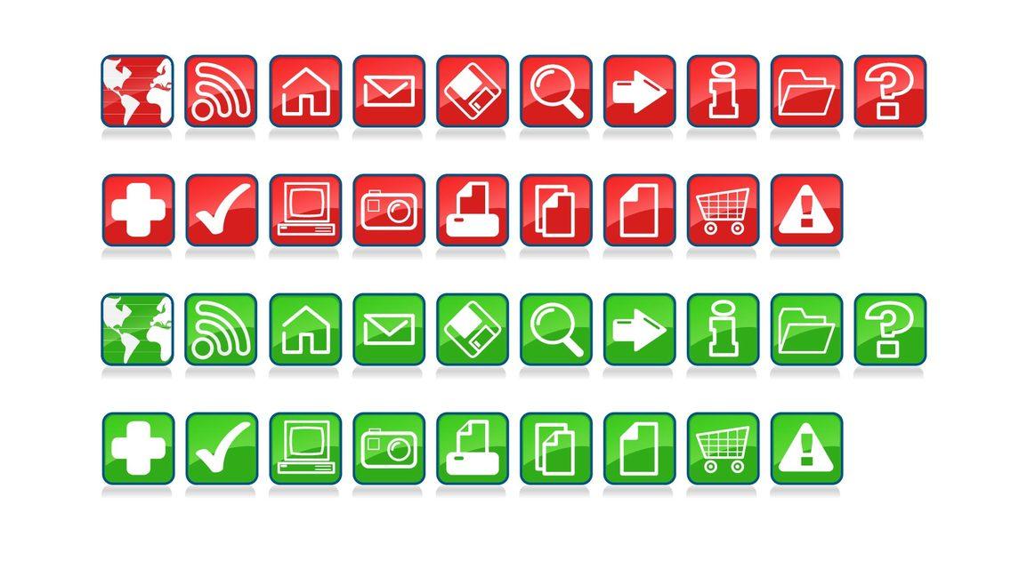 CraigSoup Glossy Icons