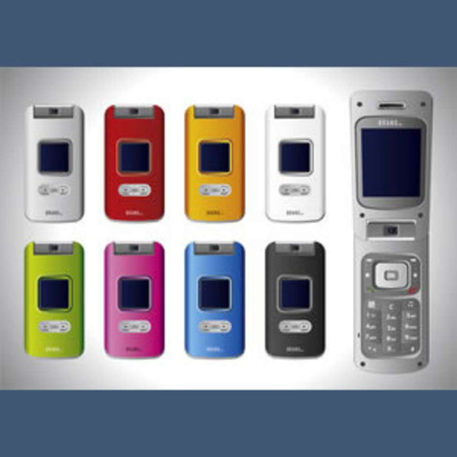 No 129 Vector Cell Phones By R