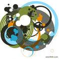 Random Circles Vector