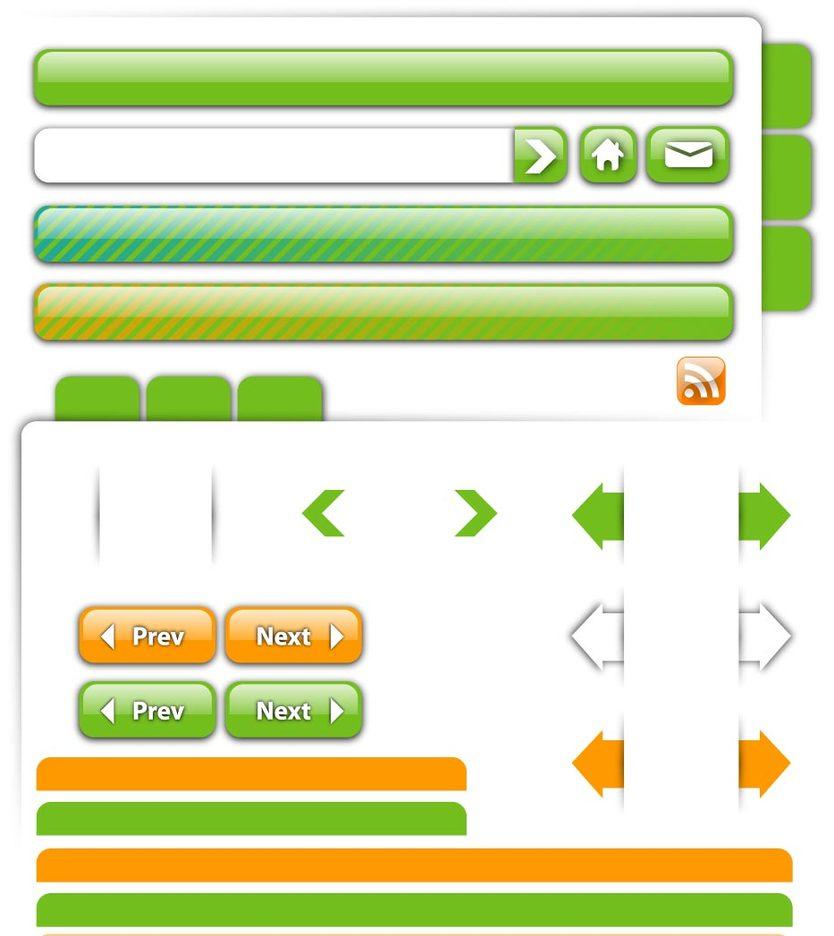 Webpage Element Vectors