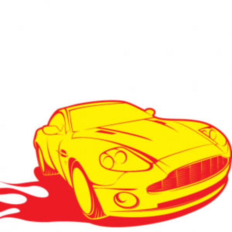 Aston Sports Car Vector