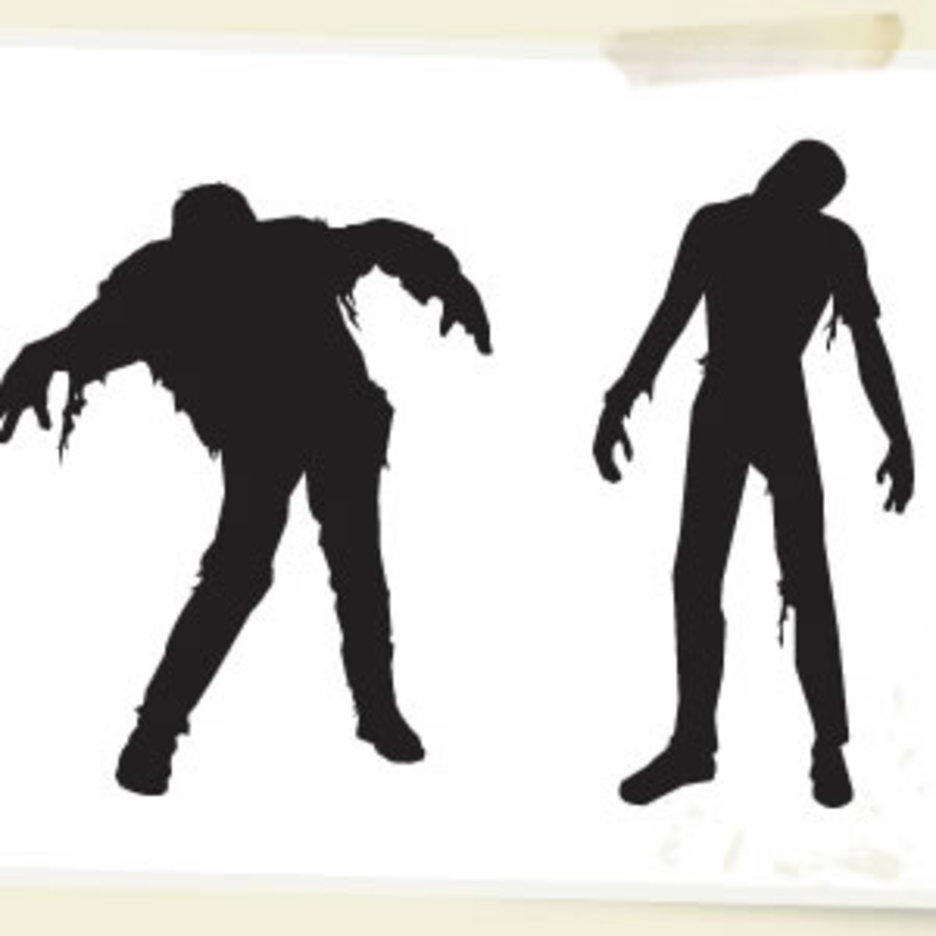 Vector Zombies Halloween