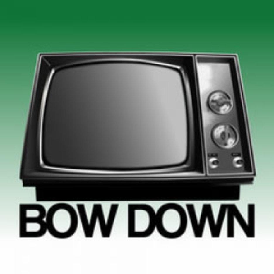 Bow Down TV Vector