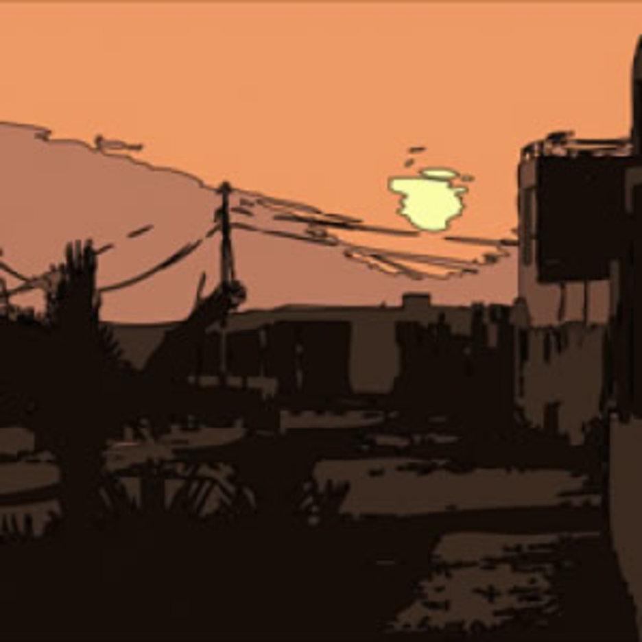 Sunset Vector Punta