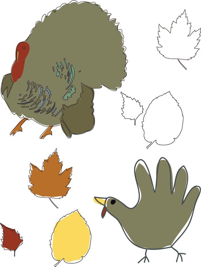 Thanksgiving Vector Art