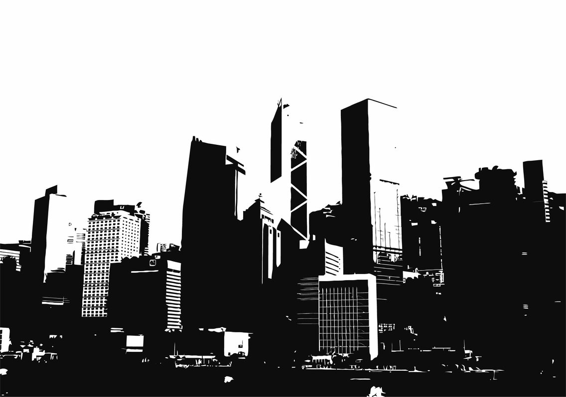 30 Free Vector Skylines