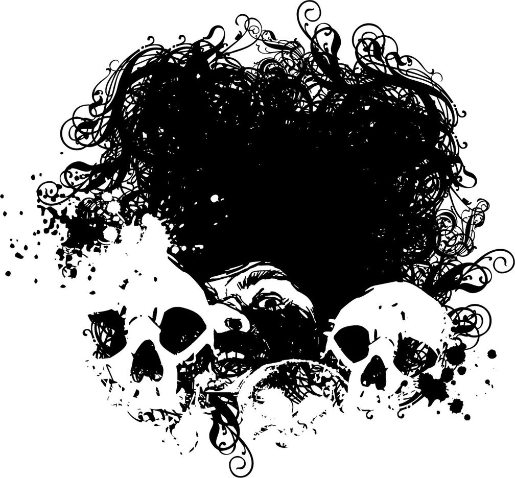 Fear Grunge Vector Illustration