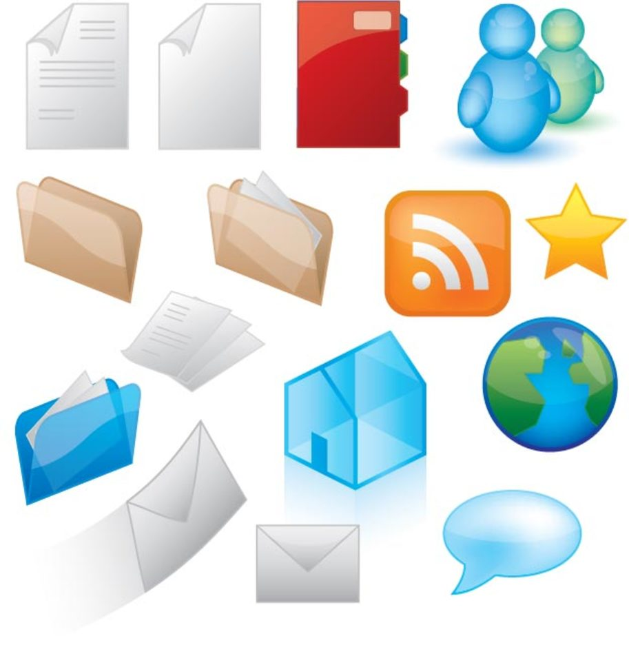Icons Style Vector Graphics
