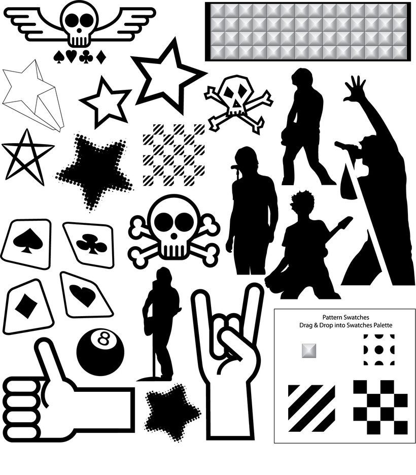 Punk Rock Vector Pack