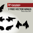 Free Vector Wings – Kick Ass Set