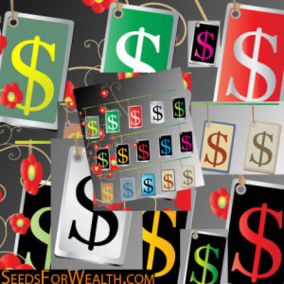 Cool Money Sign Tags