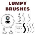 Lumpy Brushes