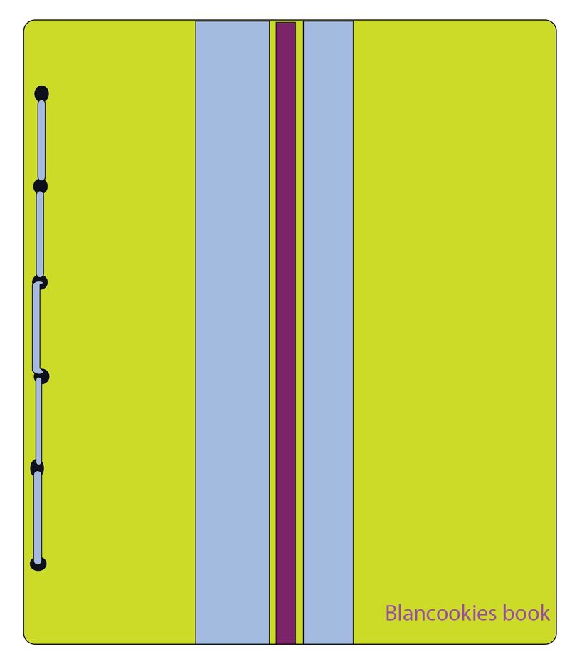 Blancookies1 Notebook Vector