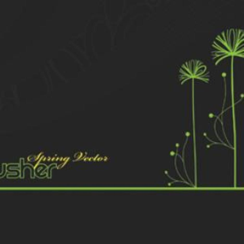 Free Spring Vector