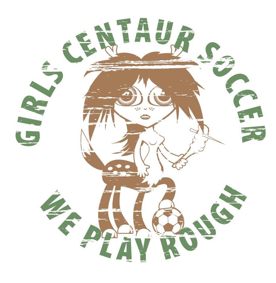 Centaur Soccer Tshirt Vector Design
