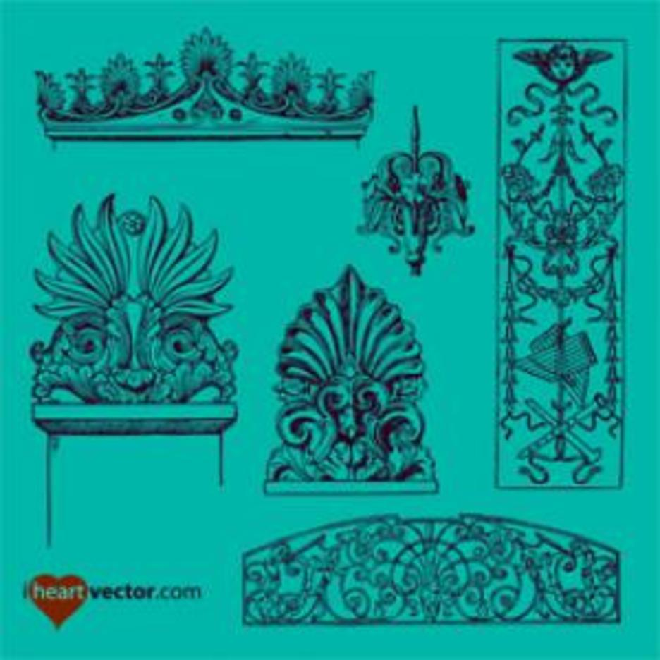 Ornaments Vector Pack