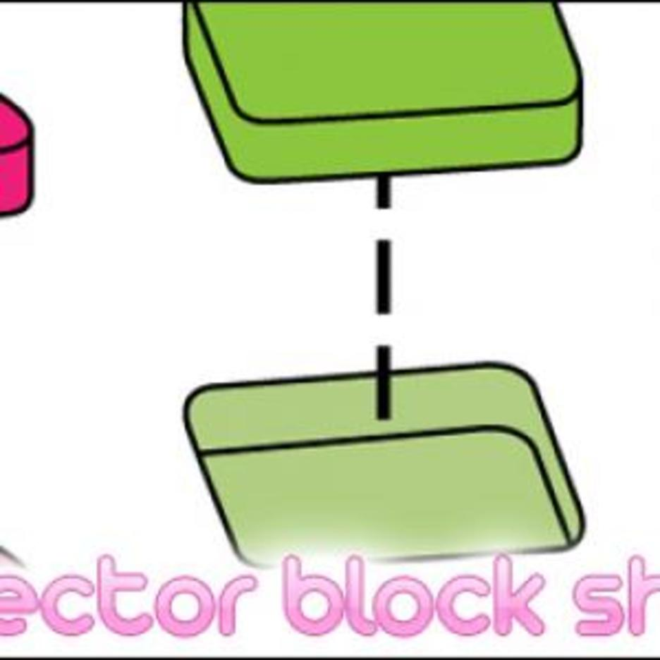 Vector Block Shapes