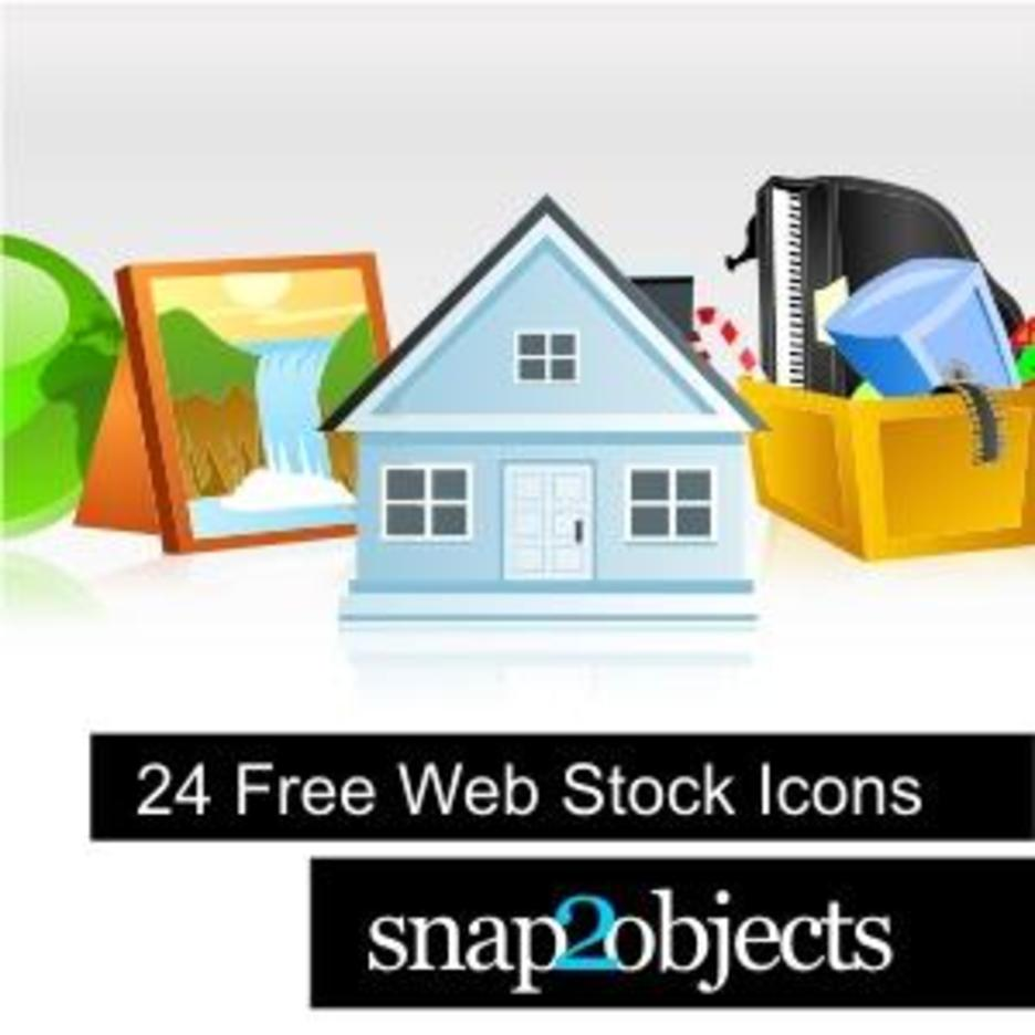 24 Free Web Stock Icons