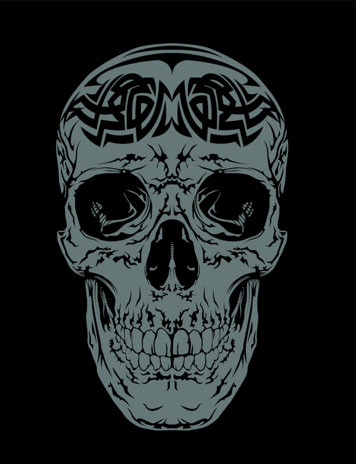 Tribal Vector Skull