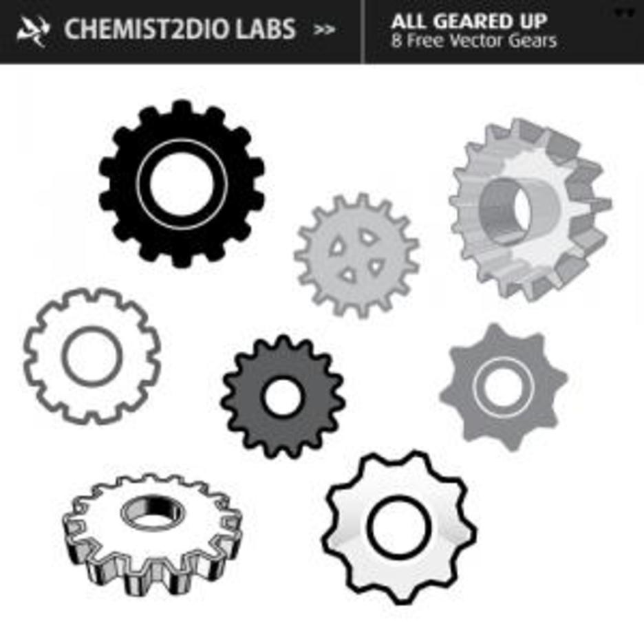 Free Vector Gears All Geared Up