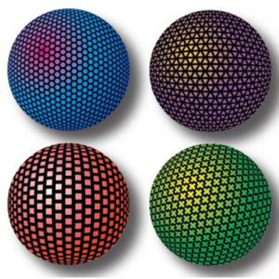 Mesh Orbs 1 Sphere Vectors