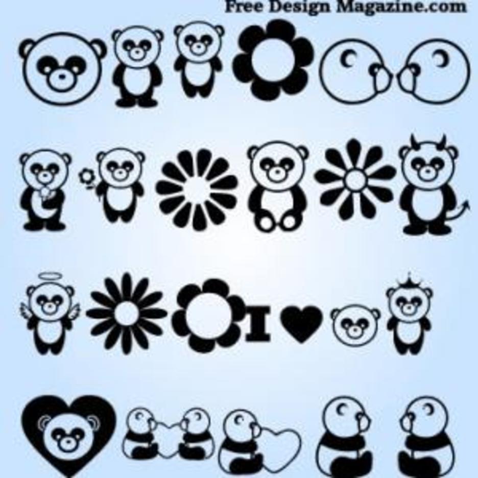 Panda Vectors