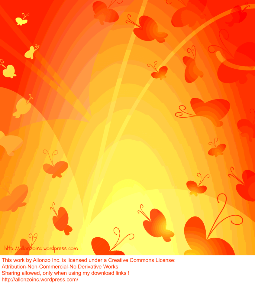 Abstract Butterfly Background 2