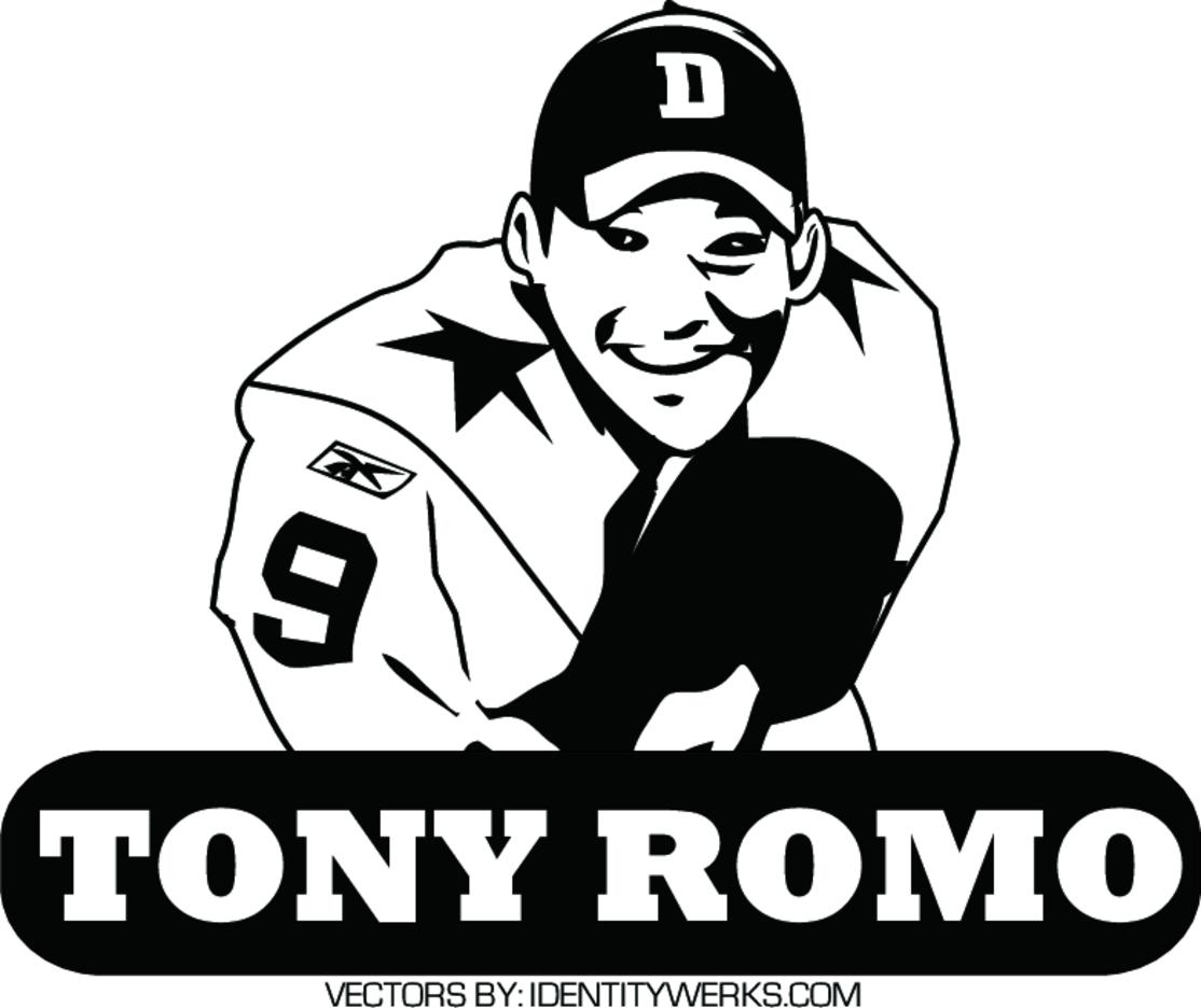 Tony Romo Vector