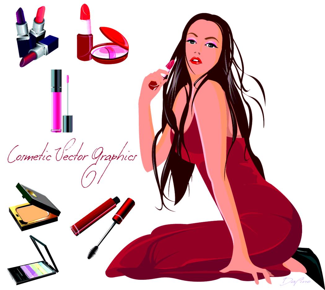Cosmetics (Red)