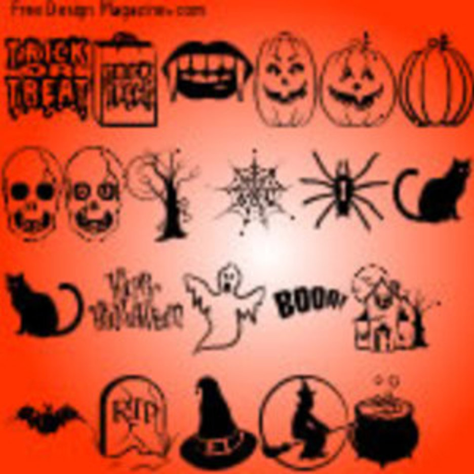Halloween Vectors Part 2