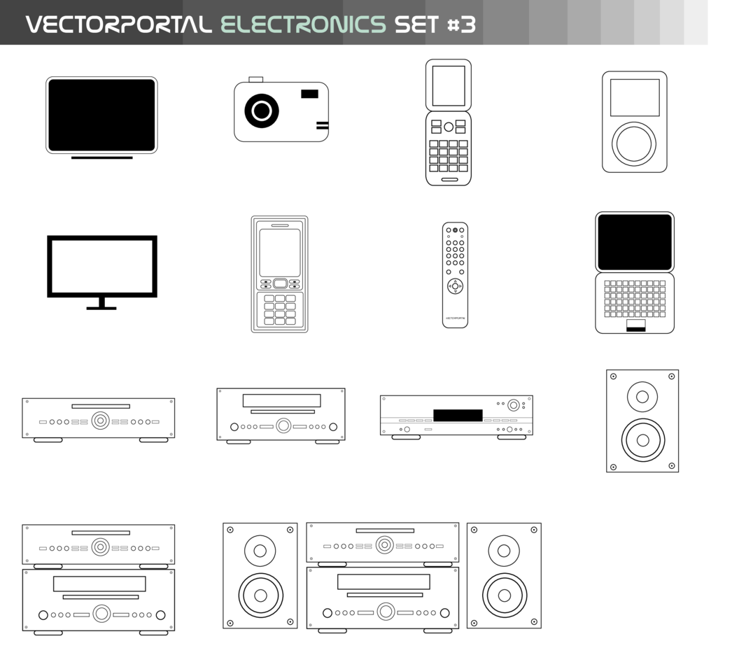 Vectorportal Electronics Set