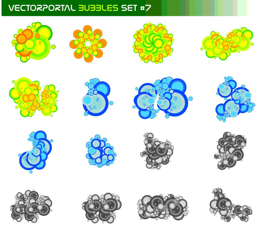 Vectorportal Bubbles Set