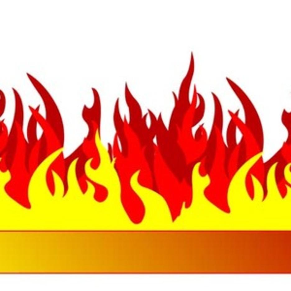 Burning Banner