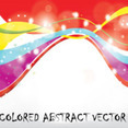 Colored Abstract Vector Graphic Art