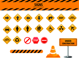 Signs Vector Set