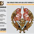 Free Vector Heraldic Emblem