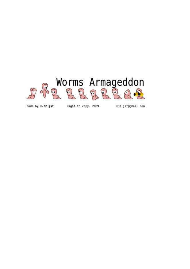 Worms Armageddon Character Suite